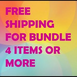 🌟Bundle 4 items and get free shipping! 🌟